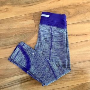 Lululemon Wunder Under Crop Size 4